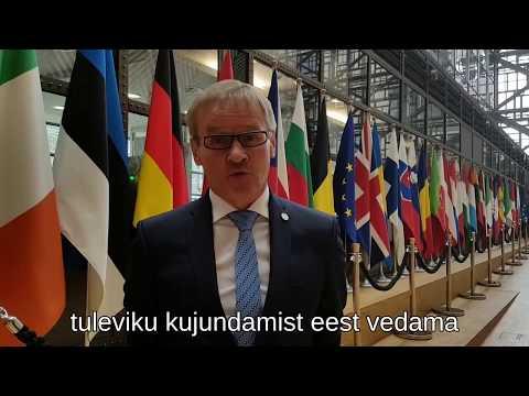 Jaak Aab Brüsselist: eesistumine ja ühtekuuluvuspoliitika