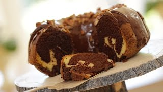 Beth's Chocolate Marble Cake (halloween Dessert Idea!)