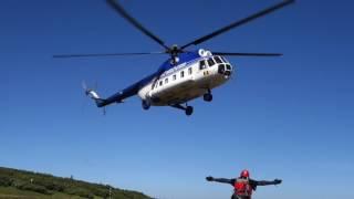 elicopter salvare montana