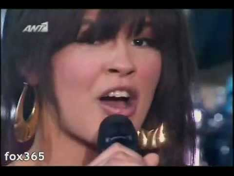 maria mena just hold me live in greek x factor