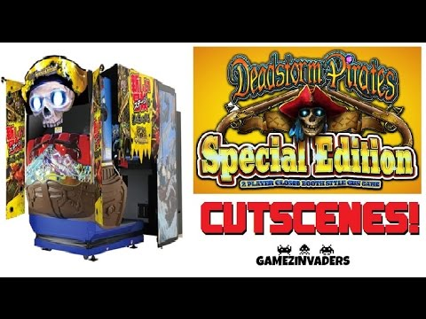 DEADSTORM PIRATE'S Special Edition! Awesome Arcade Shooter! Cut Scenes / CGI's / Cinematics