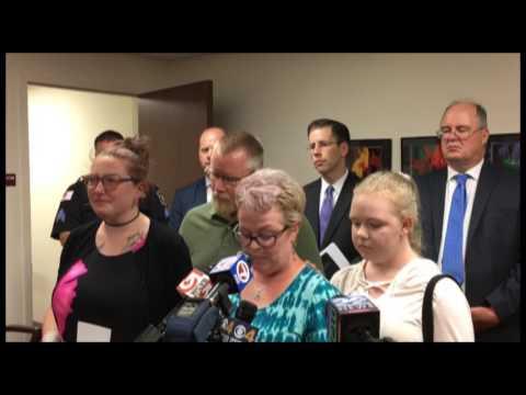 Family of Wendell murder victim Amanda Glover read statement