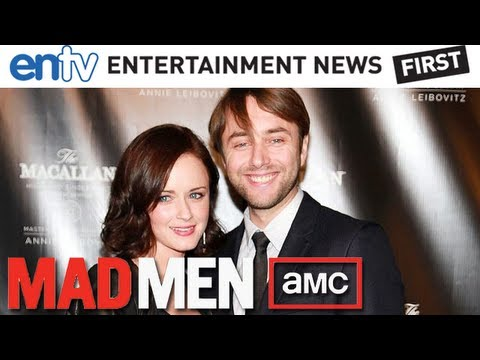 Mad Men Actors Vincent Kartheiser and Alexis Bledel Get Married ...