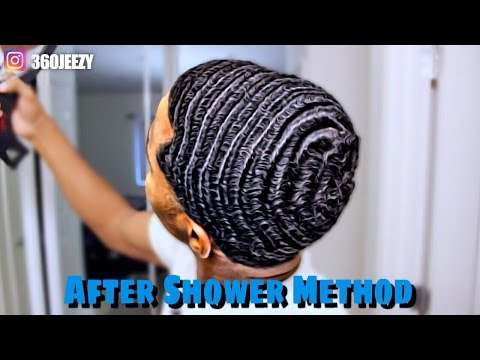 How To Get 360 Waves:  After Shower Method 2016