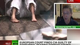 Beaten & Sodomized: CIA found guilty of torture by European Court