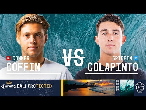Conner Coffin vs. Griffin Colapinto - Round of 32, Heat 7 - Corona Bali Protected 2019