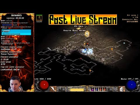 Diablo 2 - Mf Light Sorc - The Pits - Griffons today?  03/16/2018