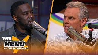 Zion was downright impressive vs Lakers, talks Giannis & LeBron — Chris Haynes | NBA | THE HERD
