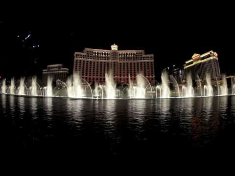 The Bellagio Water Show in HD