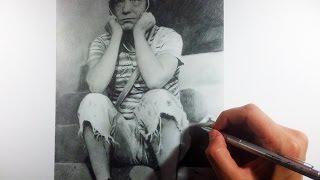Drawing Chavo del 8 (chespirito) - Dibujo Chavo del 8