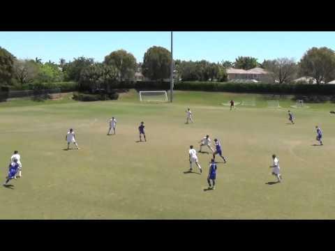Weston FC VS Charlotte SA U16 2016