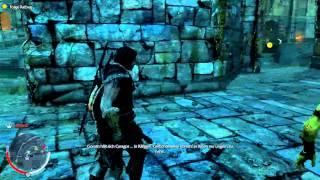 Middel Earth - Shadow Of Mordor gameplay german - PC