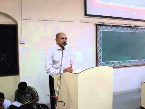 PROF. GANESH DEVY - Lecture at the Fergusson College, Pune February 2014
