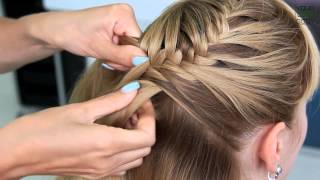 Как плести РЫБИЙ ХВОСТ. ▶ Плетение кос за 5 минут | Fishtail Braid Tutorial  | YourBestBlog