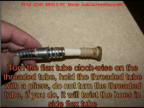 How To Fix Your Shower Hose Youtube