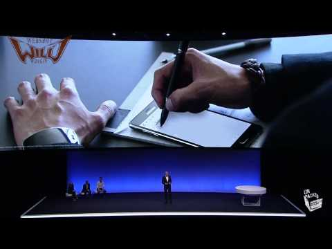 Samsung Galaxy Note 4 Presentation