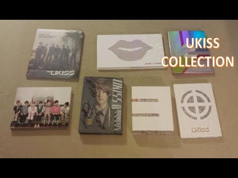 MY UKISS KPOP ALBUM COLLECTION