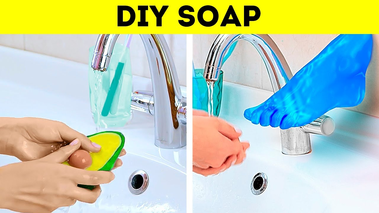 Realistic DIY Soap Ideas || How to Make Soap at Home