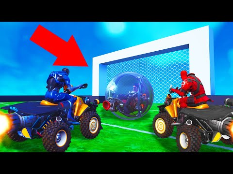Playing ROCKET LEAGUE In FORTNITE! (Creative Mode)