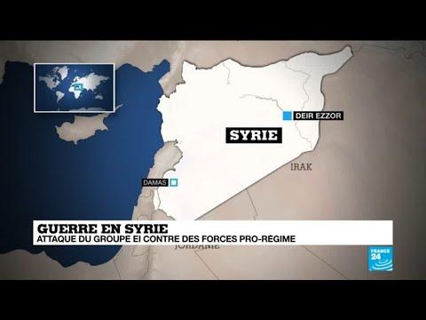 Syrie : des dizaines de soldats syriens et russes tués lors d'une attaque de l'EI à Deir Ezzor