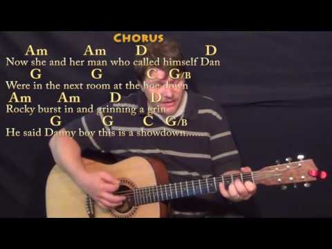 Rocky Raccoon (The Beatles) Strum Guitar Cover Lesson with Chords/Lyrics