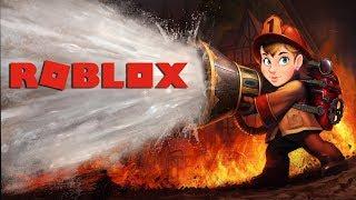 • Roblox - Firefighters! • /w Guga i Piter •Strażaczki górą!