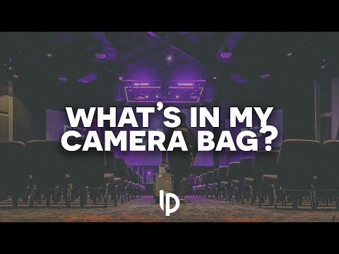 What's In My CAMERA BAG?! // Luis Pacheco