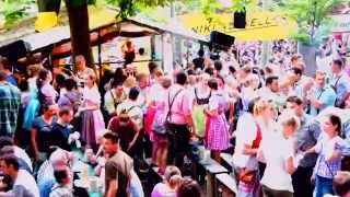 Famous Beer Garden In Erlangen Of Germany