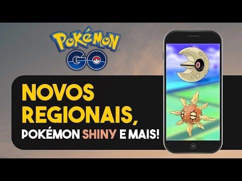 EVENTO DE OVOS, NOVA RAID, NOVOS REGIONAIS E MAIS NOVIDADES! | Pokémon GO thumbnail