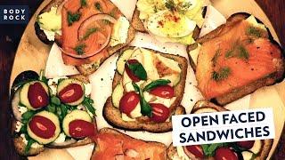 6 Open-Faced Sandwich Recipes