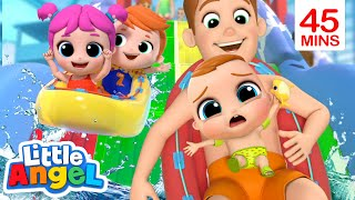 Download lagu Don't Be Afraid Of The Water | A Water Park Song | Little Angel Kids Songs