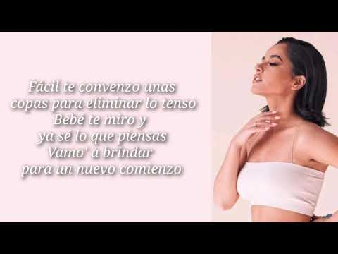 Becky G/Dalex - Subiendo (Lyrics Video)