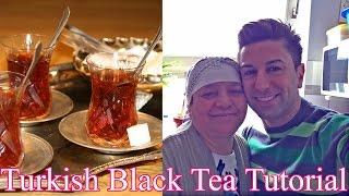 Türkischer Schwarz-Tee Zubereitung mit Oma Sasmaz! How to do Turkish Black Tea with Zadiel Sasmaz.