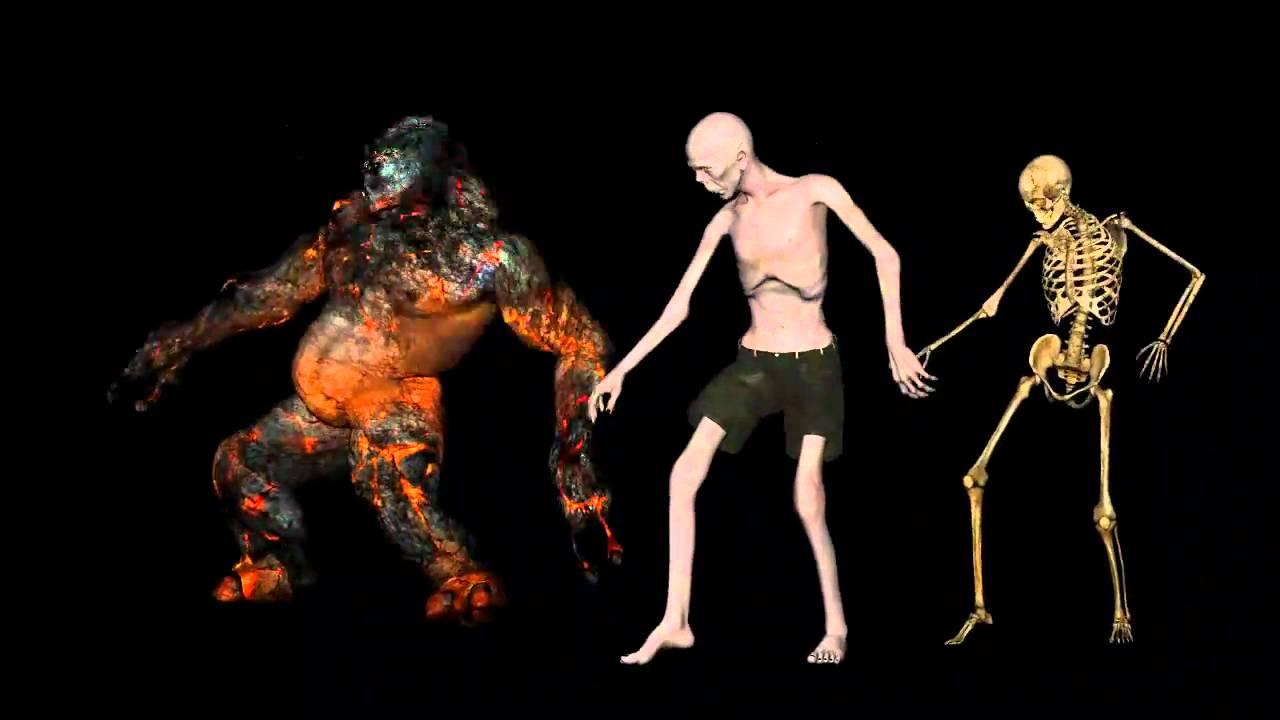 танцующие монстры картинки семги