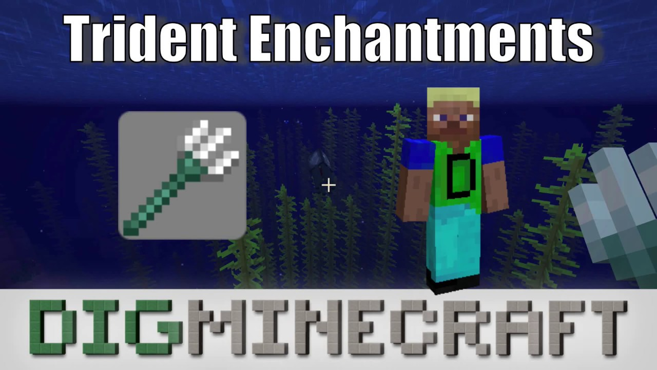 How to make an Enchanted Trident in Minecraft
