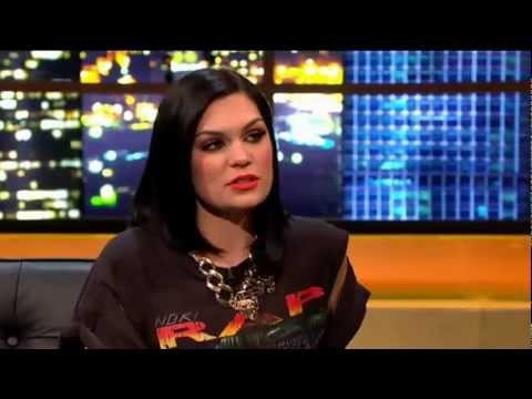 Jessie J interview + performance on ross show 04.02.2012