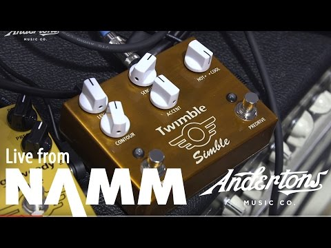 NAMM 2017 Archive - Mad Professor Twimble