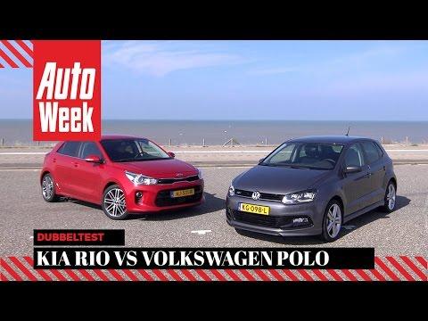Kia Rio vs. Volkswagen Polo - Dubbeltest - English subtitles