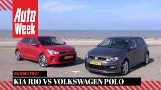 Video Kia Rio vs. Volkswagen Polo - Dubbeltest - English subtitles download MP3, 3GP, MP4, WEBM, AVI, FLV Oktober 2018