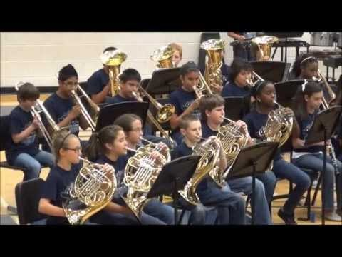 Kelly Lane Middle School Band End of year show