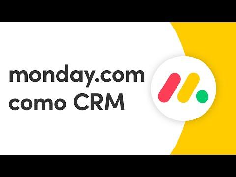 monday.com como ferramenta de CRM