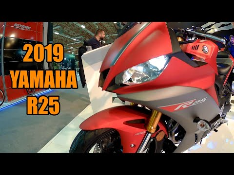 2019 YAMAHA R25 RED COLOR
