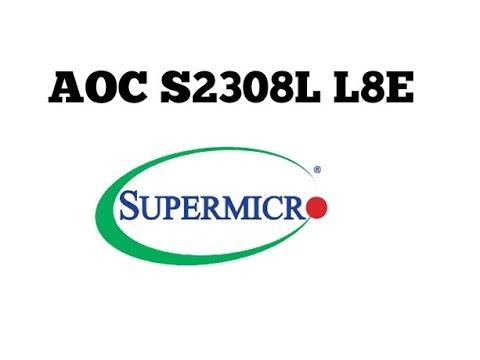 Supermicro 8 Ports SATA/SAS 6Gb/s PCI-E RAID Card AOC S2308L L8E