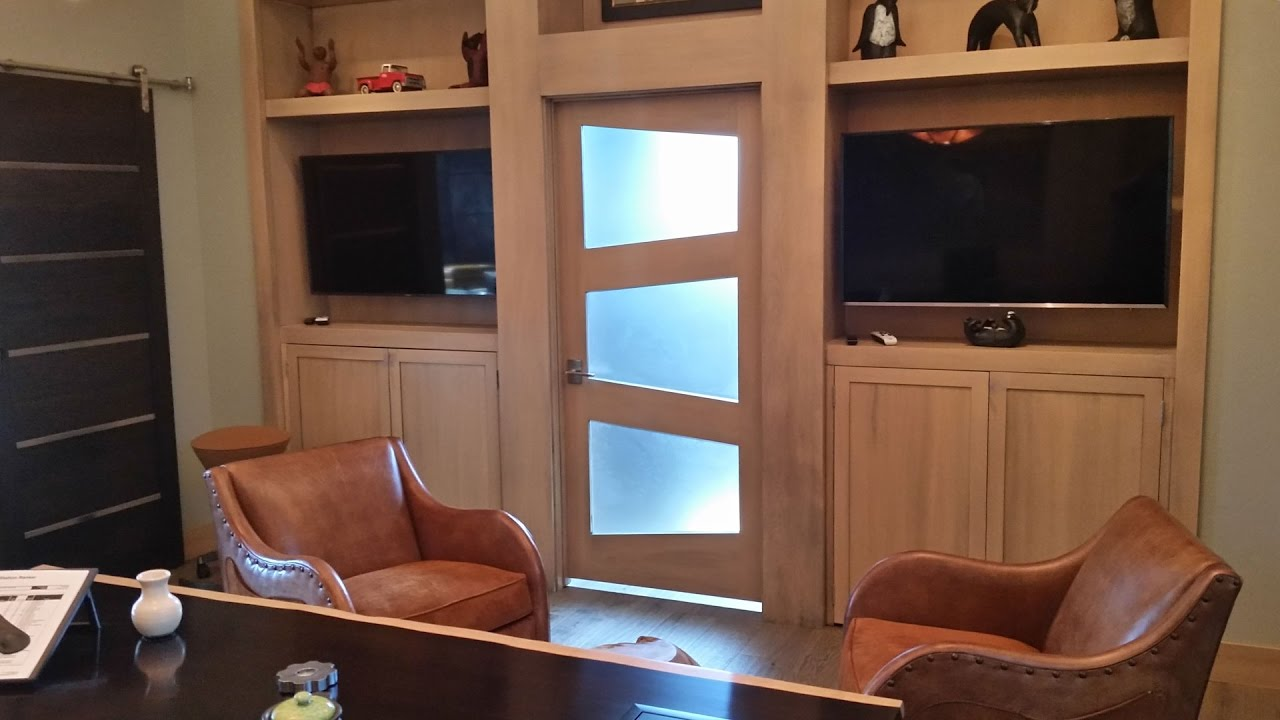 Building a custom door with trapezoid glass accents youtube planetlyrics Image collections