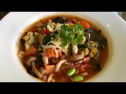 Chicken And Vegetables Soup, using leftover roasted chicken