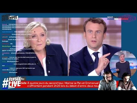 Le Pen VS Macron : #2017LeDébat d'entre-deux tours commenté par Accropolis et HugoDécrypte !