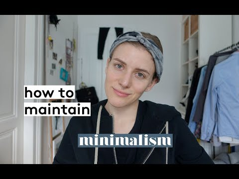 How to maintain minimalism