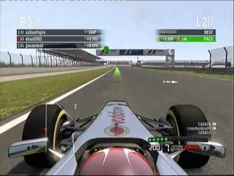 (F1 2011) First Day Crash Compilation