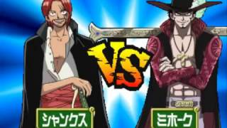 Games PS1 One Piece Grand Battle 2 PS1   Shanks vs Mihawk