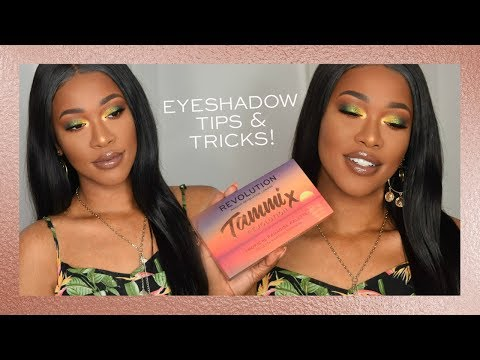 REVOLUTION | HOW TO APPLY EYESHADOW - TAMMI'S TIPS & HACKS
